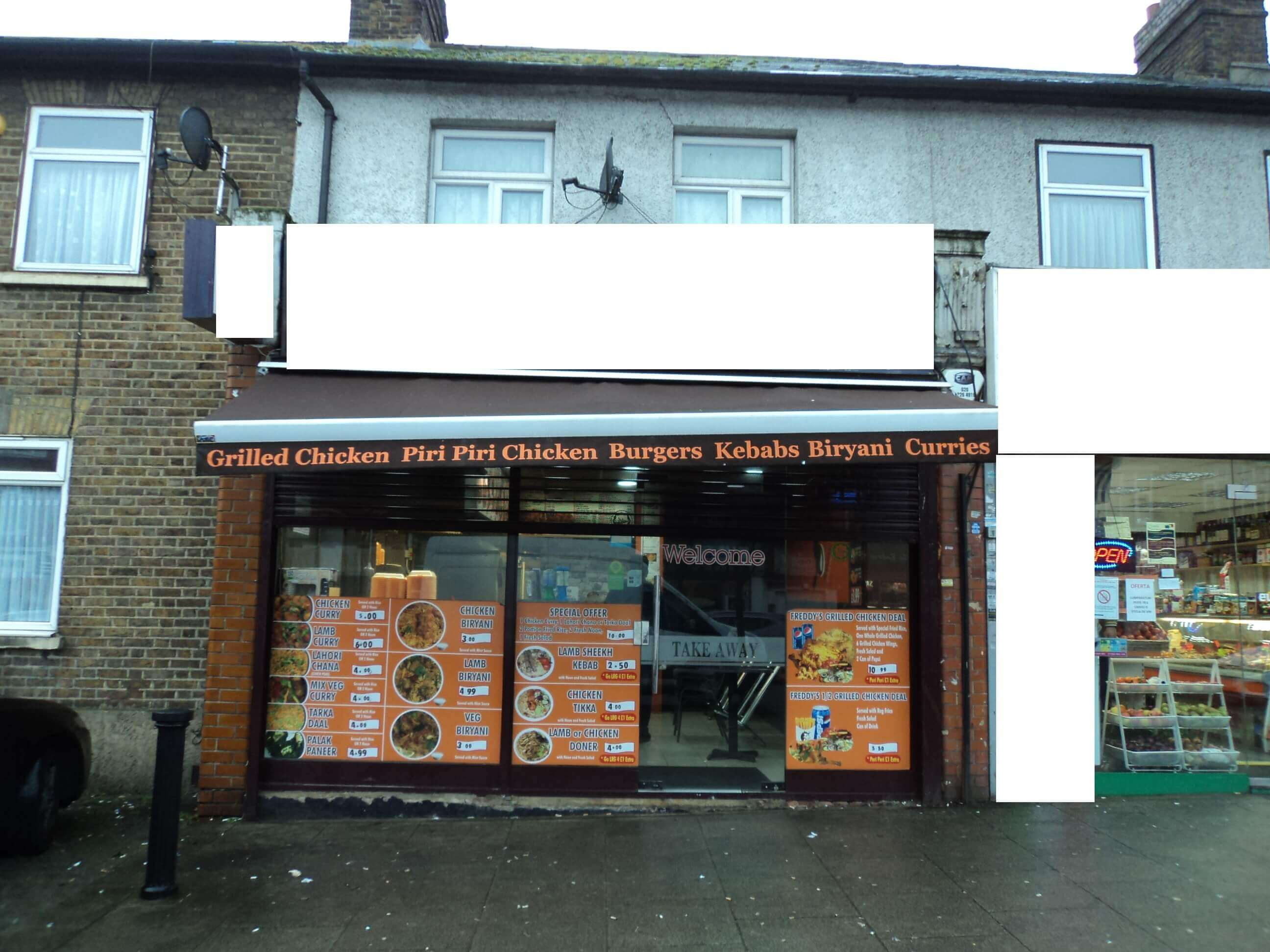 Fried Chicken Shop/A3/Wembley/Ref No: 24918