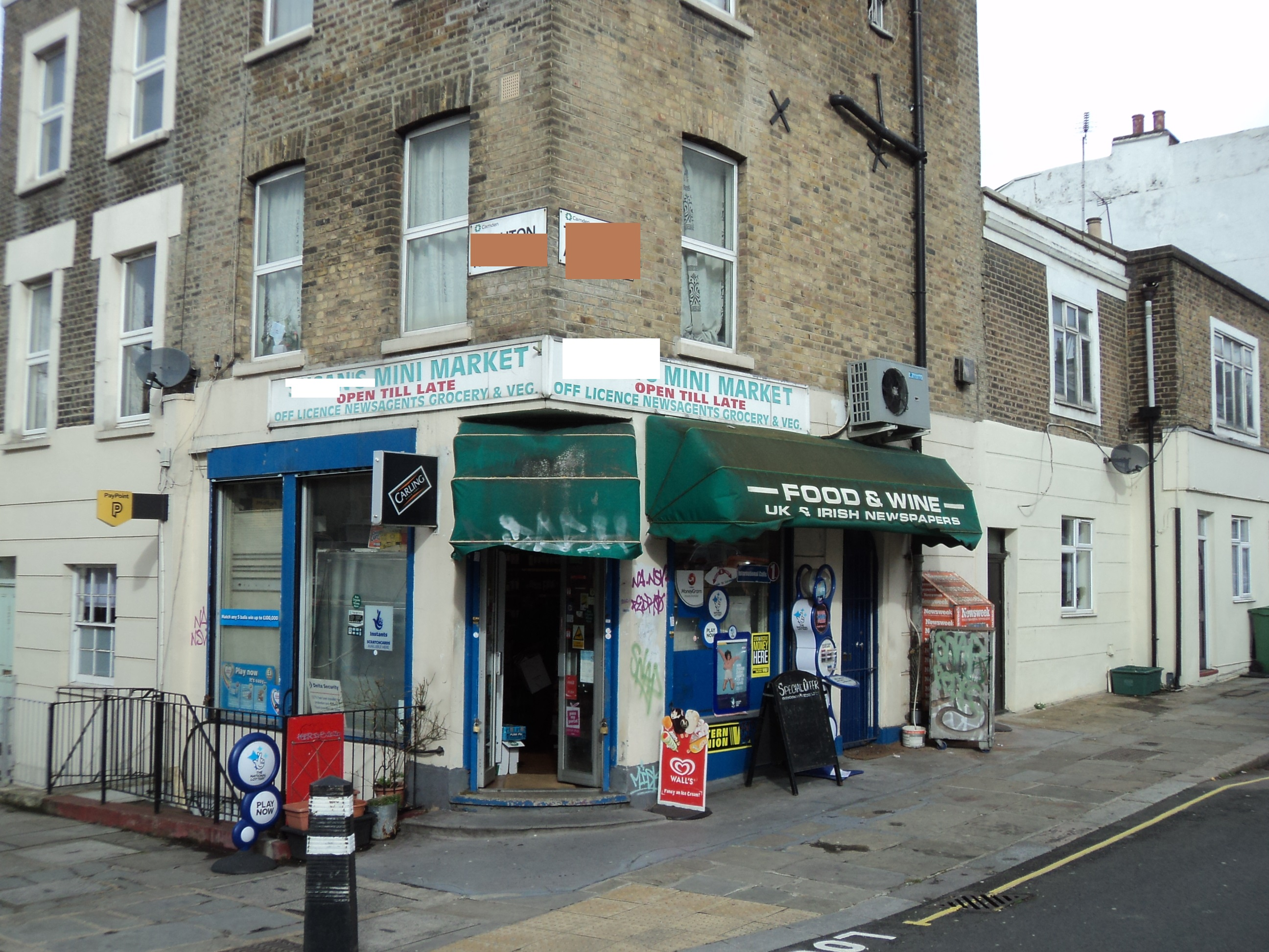 OFF LICENSE/NEWS AGENT/KENTISH TOWN LONDON/REF NO: 24928